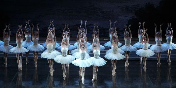 Il lago dei cigni Teatro San Carlo Napoli