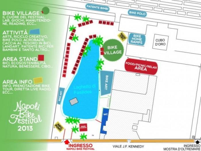 Mappa Mappa Napoli Bike Festival 2013