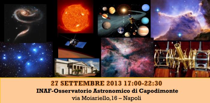 osservatorio astronomico notte dei ricercatori