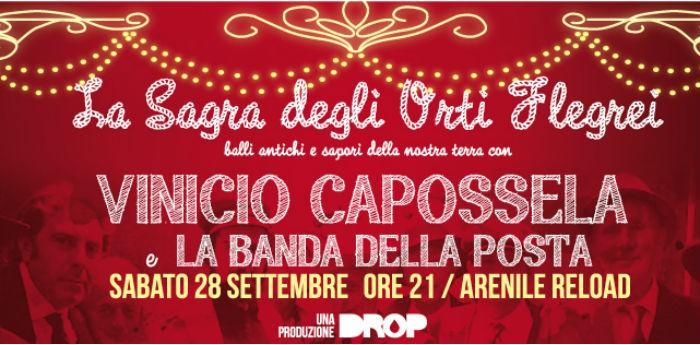 Vinicio Capossela concerto Arenile Reload