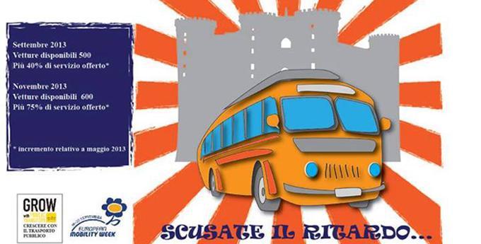 Aumentano i bus disponibili in strada a Napoli