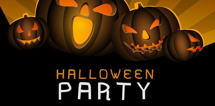 Volantino di una festa di Halloween