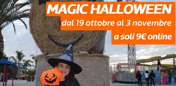 Magic Halloween al parco divertimenti di Magic World