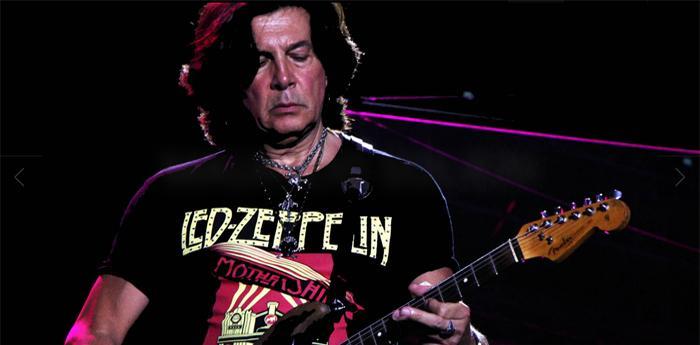 Maurizio Solieri si esibisce al Giants of Guitar