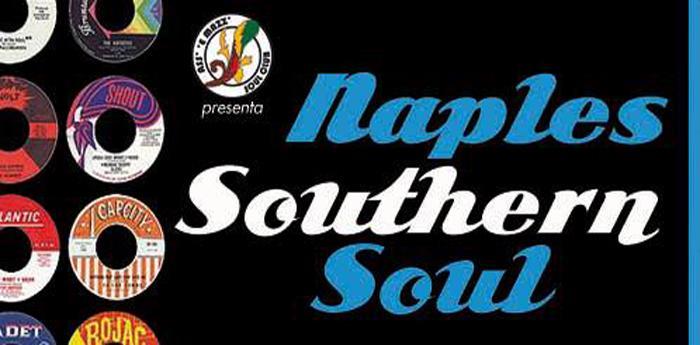 locandina del Naples Southern Soul al George Best di Napoli