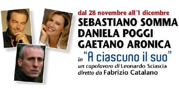 Spettacolo A ciascuno il suo al Teatro Acacia di Napoli