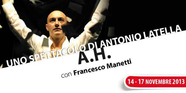 Spettacolo S.H. di Antonio Latella al Teatro Nuovo di Napoli