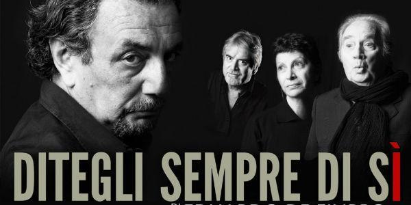 Zeigen Sie immer Ja zum Theater Totò in Neapel