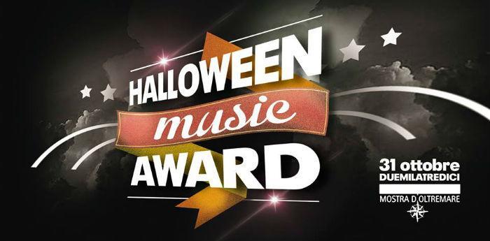 Halloween Music Award alla Mostra d'Oltremare di Napoli