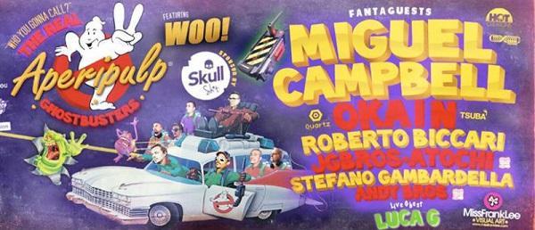 Locandina di Halloween a Napoli al Duel Beat