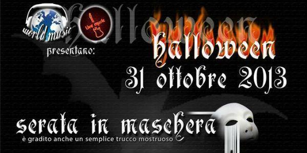 Locandina di Halloween a Napoli 2013 al Just in Time