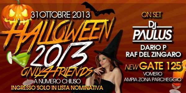 Locandina di Halloween a Napoli 2013 al New Gate