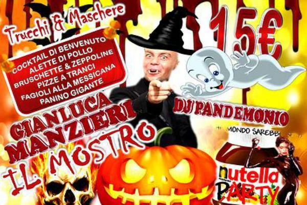 Locandina di Happy Halloween alla Taverna Cos'è Pazz di Licola Napoli