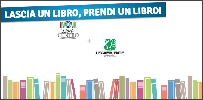 Logo modificato dell'evento Libri al centro per la nuova libreria aperta all'auchan di via argine