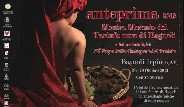 Anteprima della Mostra Mercato del Tartufo Nero di Bagnoli Irpino