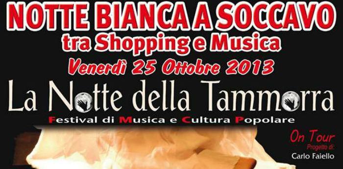 Notte Bianca a Soccavo con la tammorra di Carlo Faiello