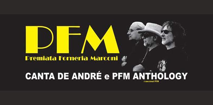 Concerto Pfm Canta De Andrè al Palapartenope di Napoli