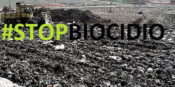 stop al biocidio della Terra dei Fuochi in Campania