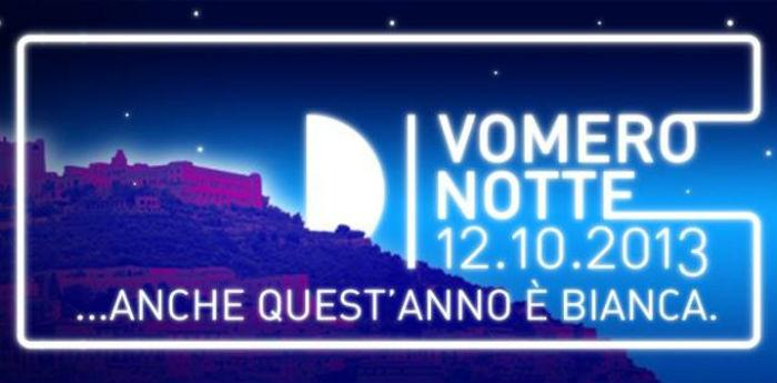 Locandina della seconda edizione di Vomero Notte 2013