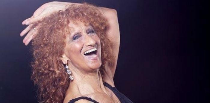 Anna Mazzamauro nel suo ultimo spettacolo Nuda e Cruda al Teatro Troisi di Napoli