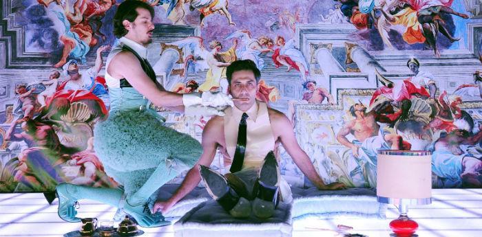 Scena tratta dallo spettacolo Don Giovanni al Teatro Bellini di Napoli