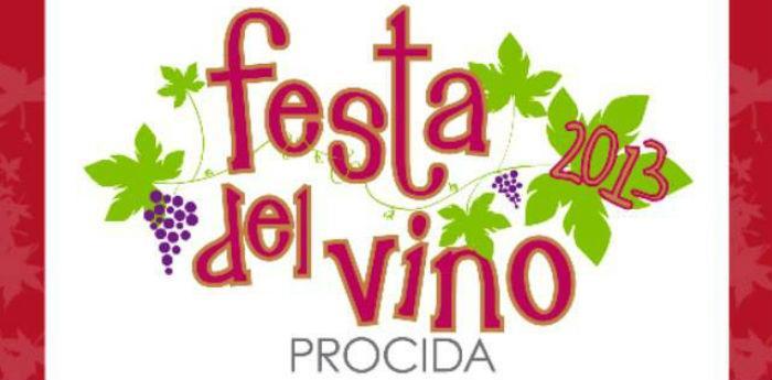 Locandina della Festa del Vino 2013 nell'isola di Procida