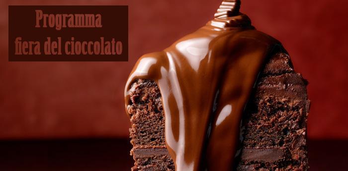 Torta della Fiera del Cioccolato al Chocolandia di Napoli