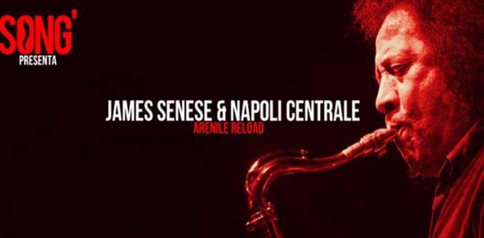 James Senese & Napoli Centrale si esibiranno all'Arenile Reload di Napoli