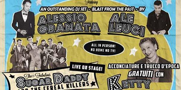 locandina twist and shout, serata vintage dell'arenile reload di napoli