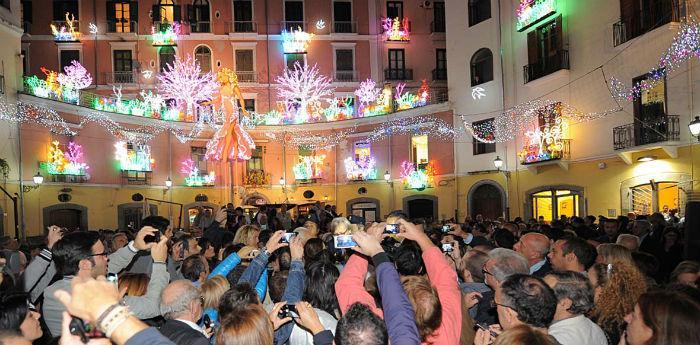 La Primavera Rinascimentale a Salerno per Luci d'Artista 2013/2014