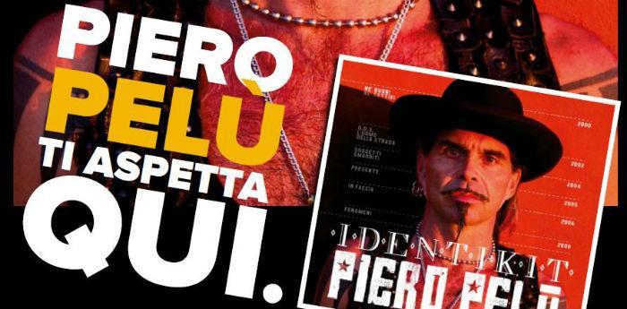 Identikit, ultimo album del cantante Piero Pelù alla Fnac di Napoli