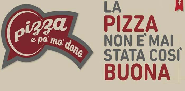 locandina di pizza e po' mo' dono che coinvolge 10 pizzerie di Napoli