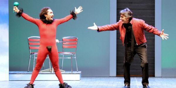 Al Teatro Diana torna lo spettacolo di Salemme Il Diavolo Custode