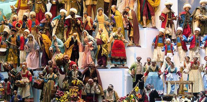 presepi a san gregorio armeno in occasione del Natale