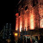 Foto del Castello di Limatola con i mercatini di Natale