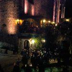 Esterno del castello di Limatola e mercatini natalizi
