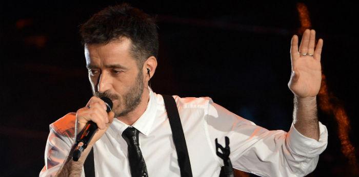 Foto di Daniele Silvestri per il concerto al Campania