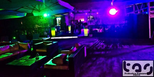 sala della discoteca Tag a Napoli