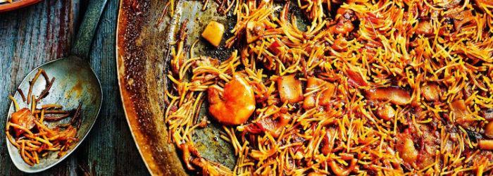 La Fideuà spagnola di Milagros gastrobar, ristorante spagnolo a Napoli