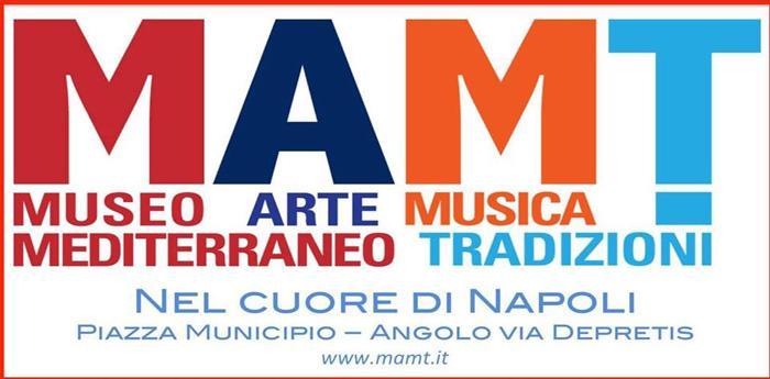 locandina del MAMT, Museo Mediterraneo delle Arti, della Musica e delle Tradizioni
