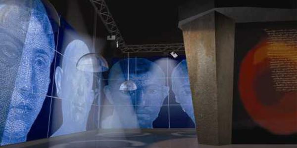 sala virtuale del museo archeologico virtuale di ercolano