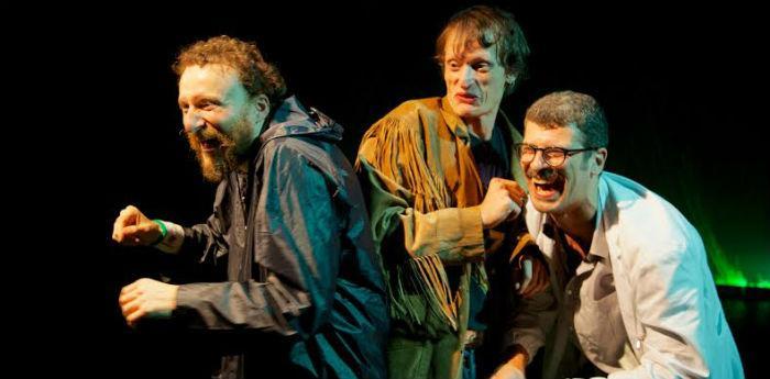 Scena dello spettacolo A Zonzo #2 al teatro Piccolo Bellini di Napoli