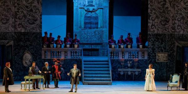 Aida al Teatro San Carlo di Napoli