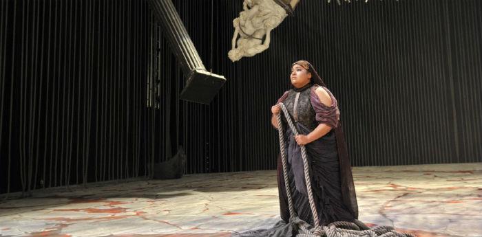 L'Aida di Giuseppe Verdi in scena al Teatro San Carlo, regia di Franco Dragone
