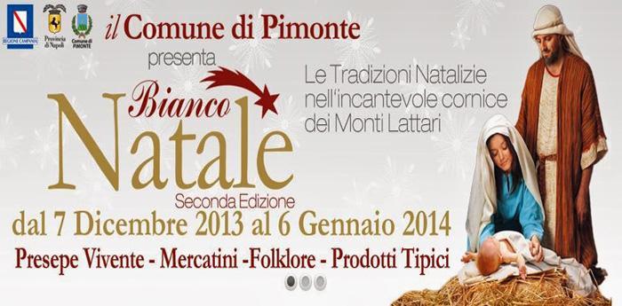 locandina dell'evento Bianco Natale a Pimonte