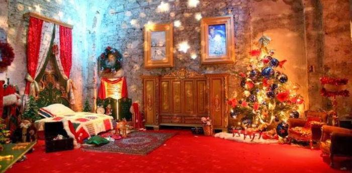 Foto della Casa di Babbo Natale ad Ercolano (Na)