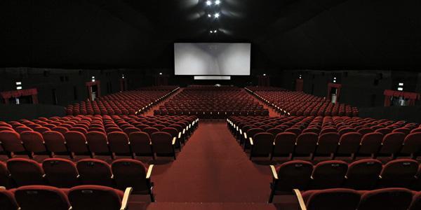 interno della sala di un cinema