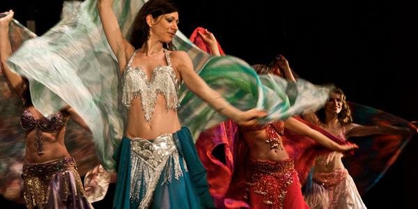 danzatrici di danza del ventre