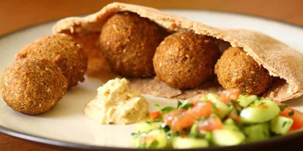 falafel tipico piatto arabo