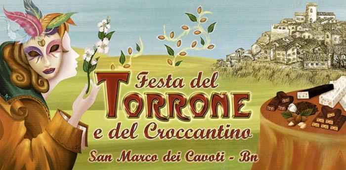 Locandina della Festa del Torrone e del Croccantino a San Marco dei Cavoti